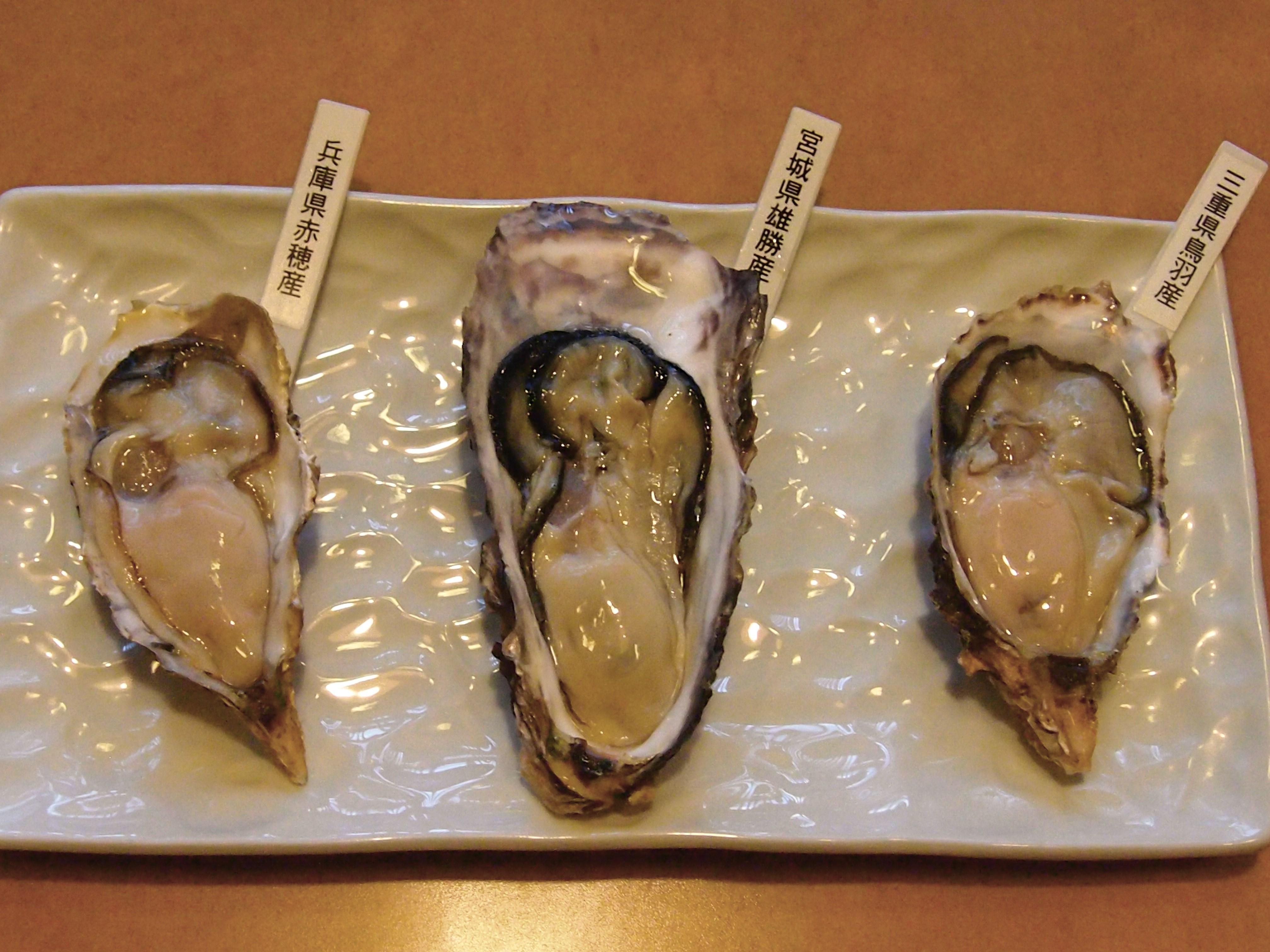 牡蠣三昧盛り